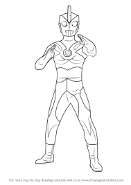 learn how to draw ultraman ace ultraman step by step drawing tutorials
