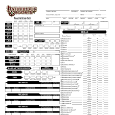 pathfinder kingdom sheet character sheet pdf docdroid