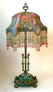 beaded lamp glass lamp shades lamp and beaded lamp shade vintage glass lamp shades beaded lamp beaded lamp fringed lamp shades