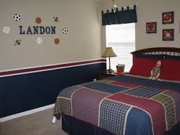 Boys Bedroom Decorating Ideas Sports