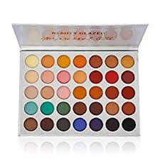 Beauty Glazed Eyeshadow Palette Pigmented Colors ... - Amazon.com
