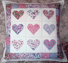 The Best Heart Quilt Designs & Patterns for Valentine's Day & Heart Pillow Adamdwight.com