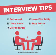 Interview Tips Get Rid Of Your Fear Of Interview With Some Helpful Tips
