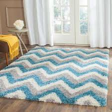 kids ivory blue 8 ft x 10 ft area rug