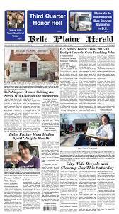 Belle plaine herald april 26, 2017 by Belle Plaine Herald - issuu