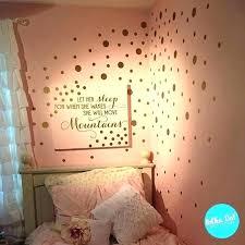 gold wall decals fresh metallic polka dot walls pink rose ely vinyl dots on circle canada circle wall decals gold