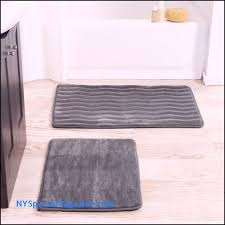 perfect bathroom rug sets new memory foam rectangle brown bath mat decor with non skid backing