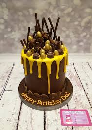 Cake Ideas For Mens 80th Birthday Chocolate Only Cakes A Sponge 1