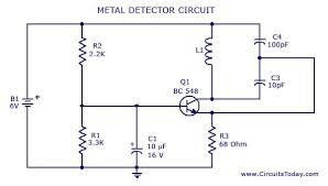 circuit diagram  metal detector and ghost towns on pinterest