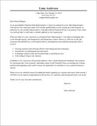 Free Sample Cover Letter For Sales Representative Cover Letter