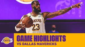 HIGHLIGHTS | Los Angeles Lakers vs. Dallas Mavericks - YouTube