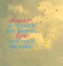 Dream Quotes Tumblr | afraid, dream, quote, text - inspiring ...