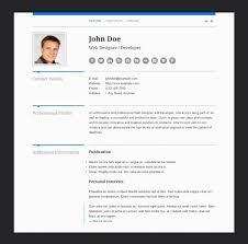 Wordpress Resume Template Resume Template Ideas