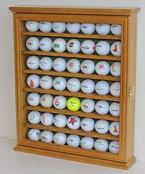 Golf Ball Display Stand Best Amazon Golf Ball Display Case Cabinet Holder Rack Stand Solid