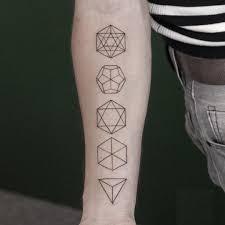 тату геометрические фигуры 15 лучших фото Art тату