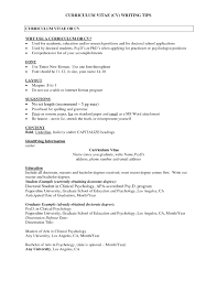 Sample Psychology Resume Brilliant Psychology Resume Example Cv Template Maggi