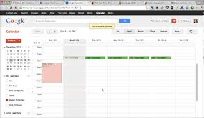 schedule weekly how to create a weekly schedule in google calendar from tell your