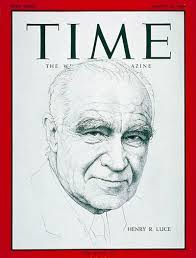 TIME Magazine Cover: Henry R. Luce - Mar. 10, 1967 - Journalism - TIME
