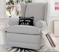 pottery barn recliner. Perfect Pottery Wingback Swivel Glider U0026 Recliner And Pottery Barn L