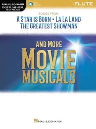 Songs from A Star is Born • La La Land • The Greatest Showman   Flöte Noten  + audio Download