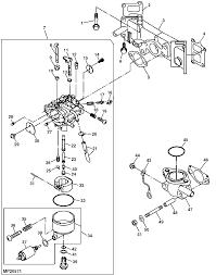I have a deere 345 garden tractor it ran fine last summer now it rh justanswer honda recon carb diagram gy6 carb diagram