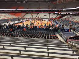 Carrier Dome Basketball Seating Chart Rows Carrier Dome Section 113 Syracuse Basketball
