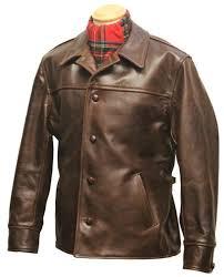 teamster front quarter horsehide jacket aero leathers scotland