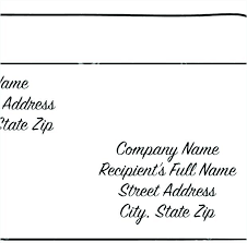Envelope For Resume Resume Envelope Format Envelope Writing Template Envelope