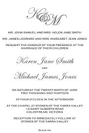 Proper Wedding Invitation Wording Divorced Parents