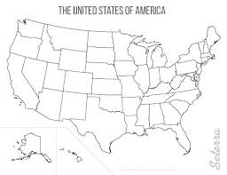 Map Of The United States Printables Map Outline With States Large