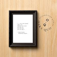 Aks Stock Quote Cool Emily Bronte Wuthering Heights Typewriter Quote 48x48