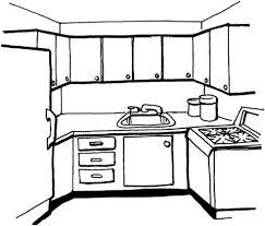 Utensili Da Cucina Da Colorare Per Bambini Con Disegno Di Frullatore