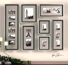 hanging picture frame collage photo wall ideas without frames wall frame collage how to decorate a hanging picture frame collage