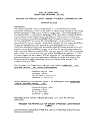 Business Agreement Sample Loan Proposal Example Staff Adjuster