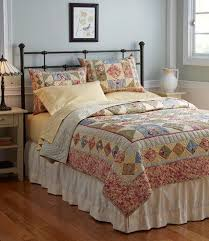32 best Bedrooms images on Pinterest | Wood grain, Wrought iron ... & Timeless Floral Quilt: Quilts | Free Shipping at L.L.Bean Adamdwight.com