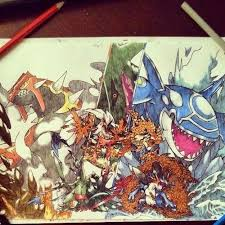 A Friend Of Mine Drew This For The Upcoming Omega Ruby Alpha