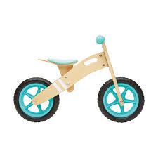 28cm wooden balance bike