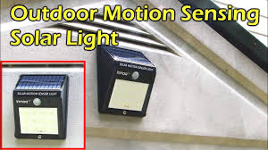 <b>Solar Powered</b> Outdoor Motion Sensing <b>LED Light</b> - Waterproof ...