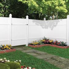 vinyl fence panels home depot. Easily Add Some Elegance To Your Home Projects With The Help Of This Veranda White Vinyl Windham Fence Panel. Panels Depot