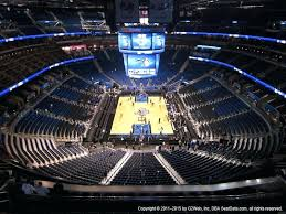 Elegant Amway Center Seating Chart With Rows Amway Center Map
