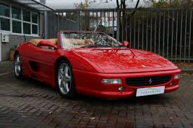 Ferrari F355 Spider For Sale In Ashford Kent Simon Furlonger Specialist Cars