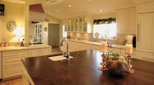 how to complement the wood countertop in your kitchen