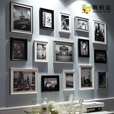 wall frames vintage photo frames wood picture frame family frame wall frames set pare com wall
