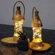 Porsima İskele Dekoratif El Yapımı Gece Lambası