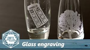 how to engrave glass with a dremel beginners tutorial
