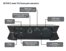 hauppauge hd pvr 2 product description record your tv programs in hd from a cable tv dvr or satellite tv box