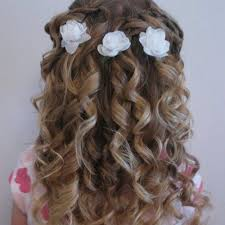 First Communion Hairstyles 53 Stunning First Holy Communion Hairstyles Curly Hair Girl Hairstyles