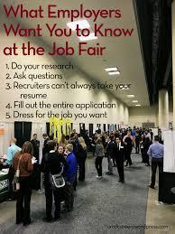Job Fair Peer Into Your Career