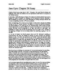 jane eyre chapter essay gcse english marked by teachers com page 1 zoom in