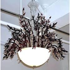 italian murano glass chandelier modern white glass chandelier with organic c like decor interiors venice murano
